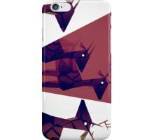 Geometric animals A iPhone Case/Skin