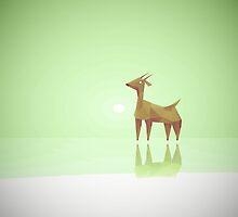 Geometric animals B by Feindherz