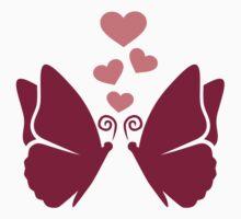 Butterflies hearts love by Designzz