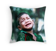 Crying Game Throw Pillow