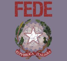 Fede Surname Italian Kids Clothes