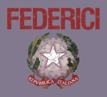 Federici Surname Italian Kids Clothes