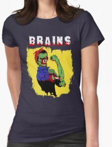 Rosie The Zombie Womens Fitted T-Shirt