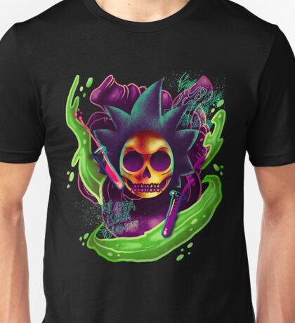 The black heart of Rick Sanchez.  Unisex T-Shirt
