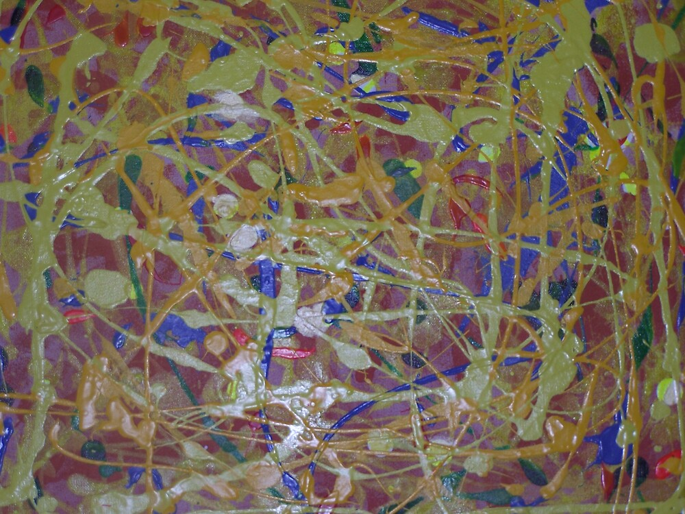Yellow Chaos by Matai (Max) Volau