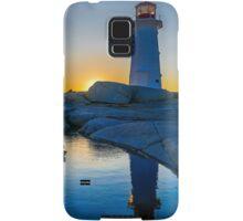 Lighthouse at Sunset Samsung Galaxy Case/Skin
