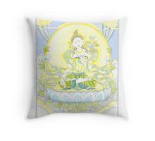 Tara Buddha Throw Pillow