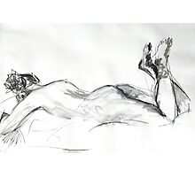2007 Nude Female Study Photographic Print