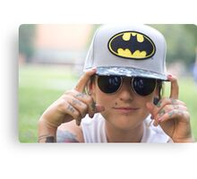 TNS Batman Cap Canvas Print