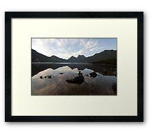 Cradle Mountain at Dawn Framed Print