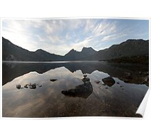 Cradle Mountain at Dawn Poster