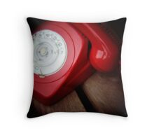 Hot Phone Throw Pillow