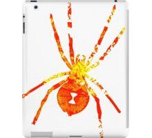 Arachnophilia-Orange/Red iPad Case/Skin