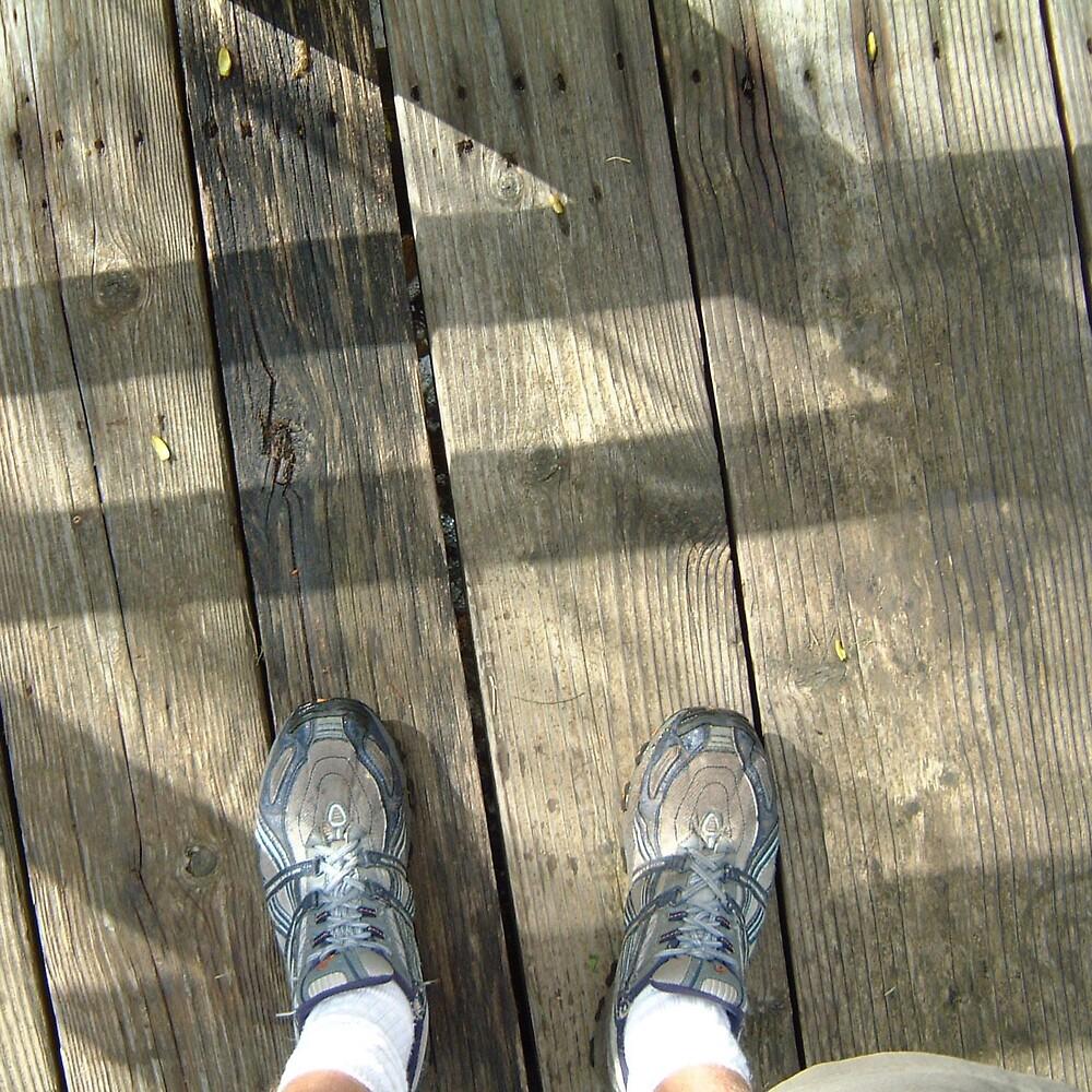 timber feet by Devan Foster