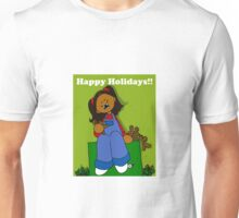 Run Away Gingerbread Men Unisex T-Shirt