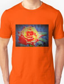 Front porch rose Unisex T-Shirt