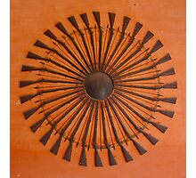 Gun Chakra Photographic Print