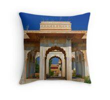 Maharani Ki Chhatri, Jaipur Throw Pillow