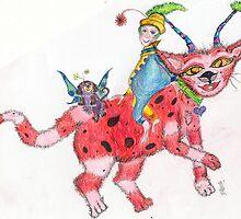 CRIMSON CAT by chantelle hartley