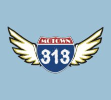 MOTOWN 313: INTERSTATE WINGS by SOL  SKETCHES™