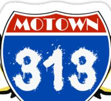 MOTOWN 313: INTERSTATE WINGS Sticker