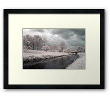 Kedron Brook in Infrared Framed Print