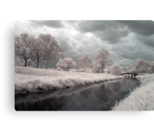 Kedron Brook in Infrared Canvas Print