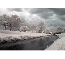 Kedron Brook in Infrared Photographic Print