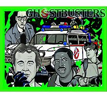 the Ghostbusters Photographic Print