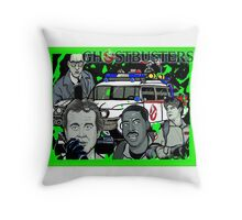 the Ghostbusters Throw Pillow