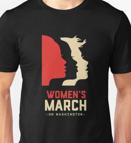 women march on Unisex T-Shirt