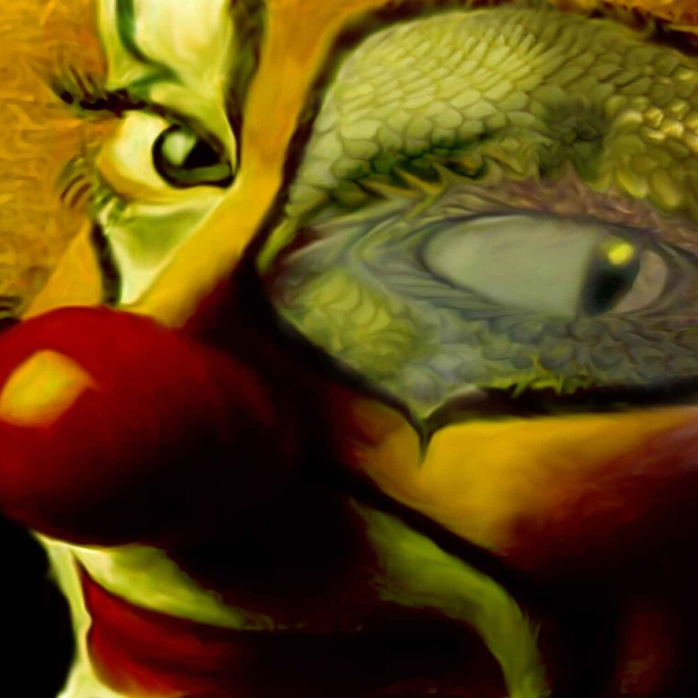 The Clown by Cliff Vestergaard