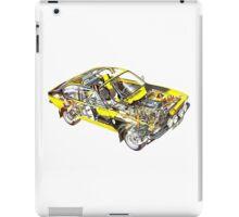 Opel Kadett GTE iPad Case/Skin