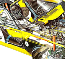 Opel Kadett GTE Sticker