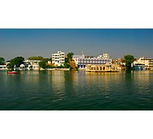Chillin, Lake Pichola | Udaipur Photographic Print