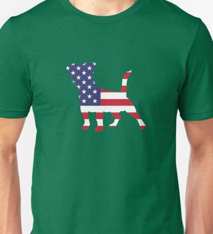 Dog Jack Russel Terrier American  Unisex T-Shirt