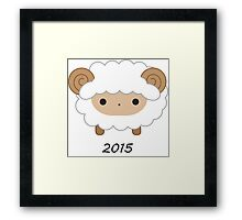 Year of the Sheep - 2015 Framed Print