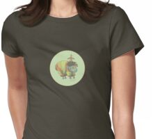 pickwick vintage blue Womens Fitted T-Shirt