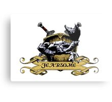 More Fearsome Than You Metal Print