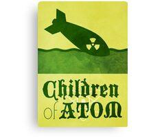 The Children of Atom Canvas Print