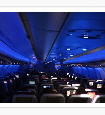 Dreamliner interior by night Sticker