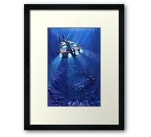 the Wreck Framed Print