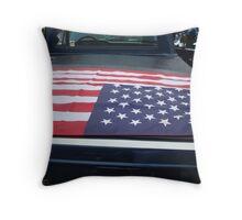 Patriotic Truck ^ Throw Pillow