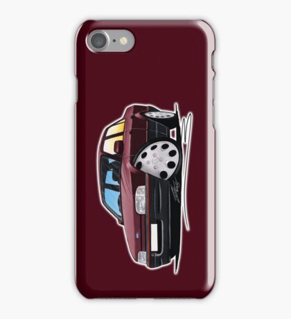 Ford Orion Burgundy iPhone Case/Skin