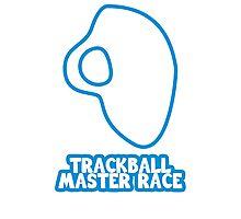 Trackball Master Race Photographic Print