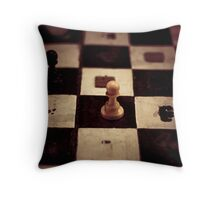 Victory, alone. Throw Pillow