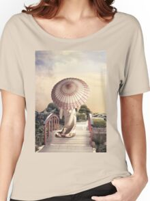 Girl with Parasol Women's Relaxed Fit T-Shirt