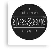 Rivers & Roads Canvas Print