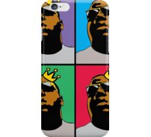 HIP-HOP ICONS: NOTORIOUS B.I.G. (4-COLOR) iPhone Case/Skin