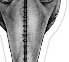 Plague Doctor's Mask Sticker